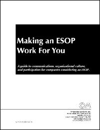 Making an ESOP Work for You: Cover
